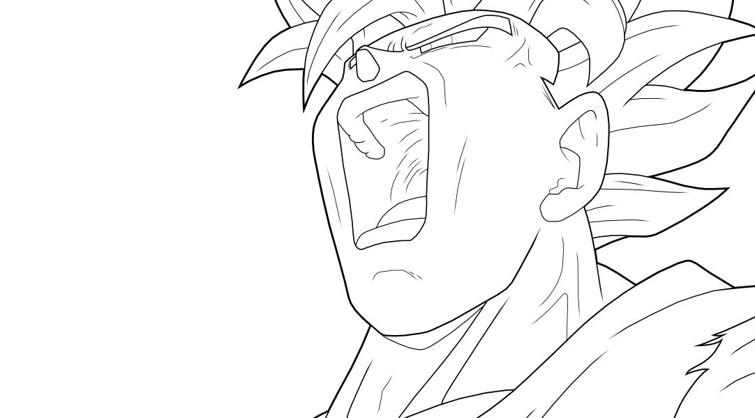 1082x600 Goku Ssj2 Preview By Drozdoo