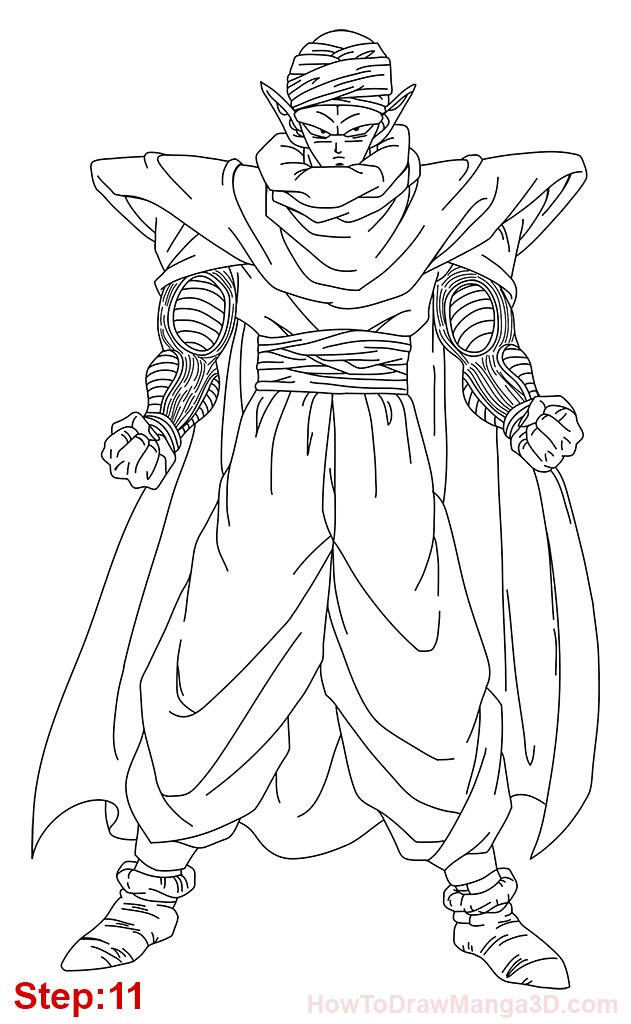 631x1024 Piccolo Dbz Drawings Piccolo Dbz Drawing