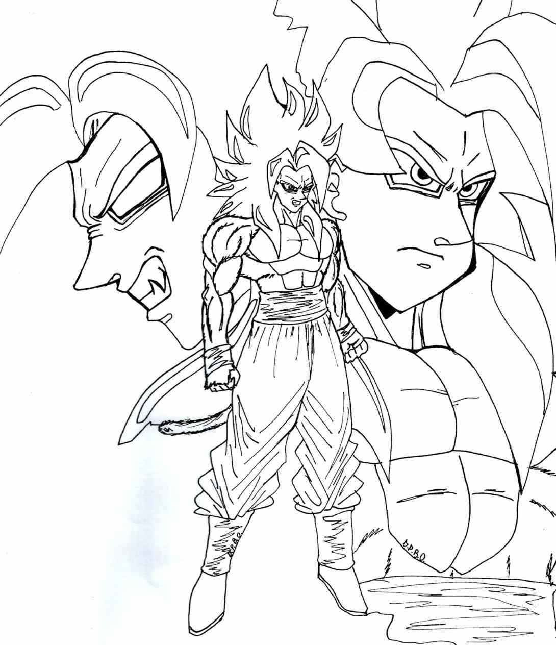 1090x1264 How To Draw Goku Super Saiyan From Dragonball Z Mangajamcom. Goku