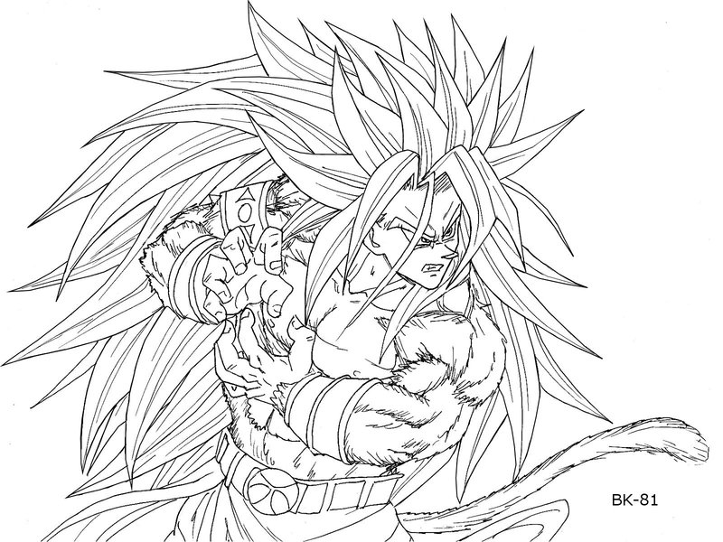 800x600 Dbz Drawing 500373