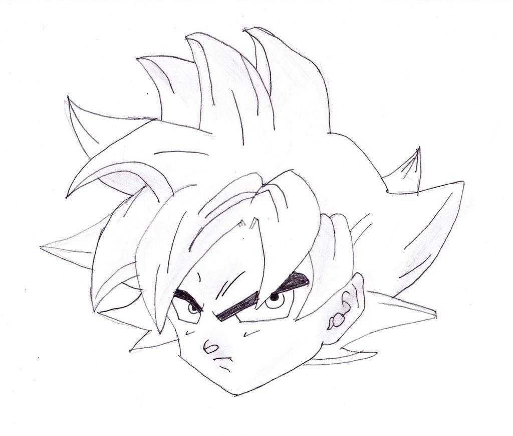 1024x869 Dragon Ball Z How To Draw Goku How To Draw Goku From Dragon Ball