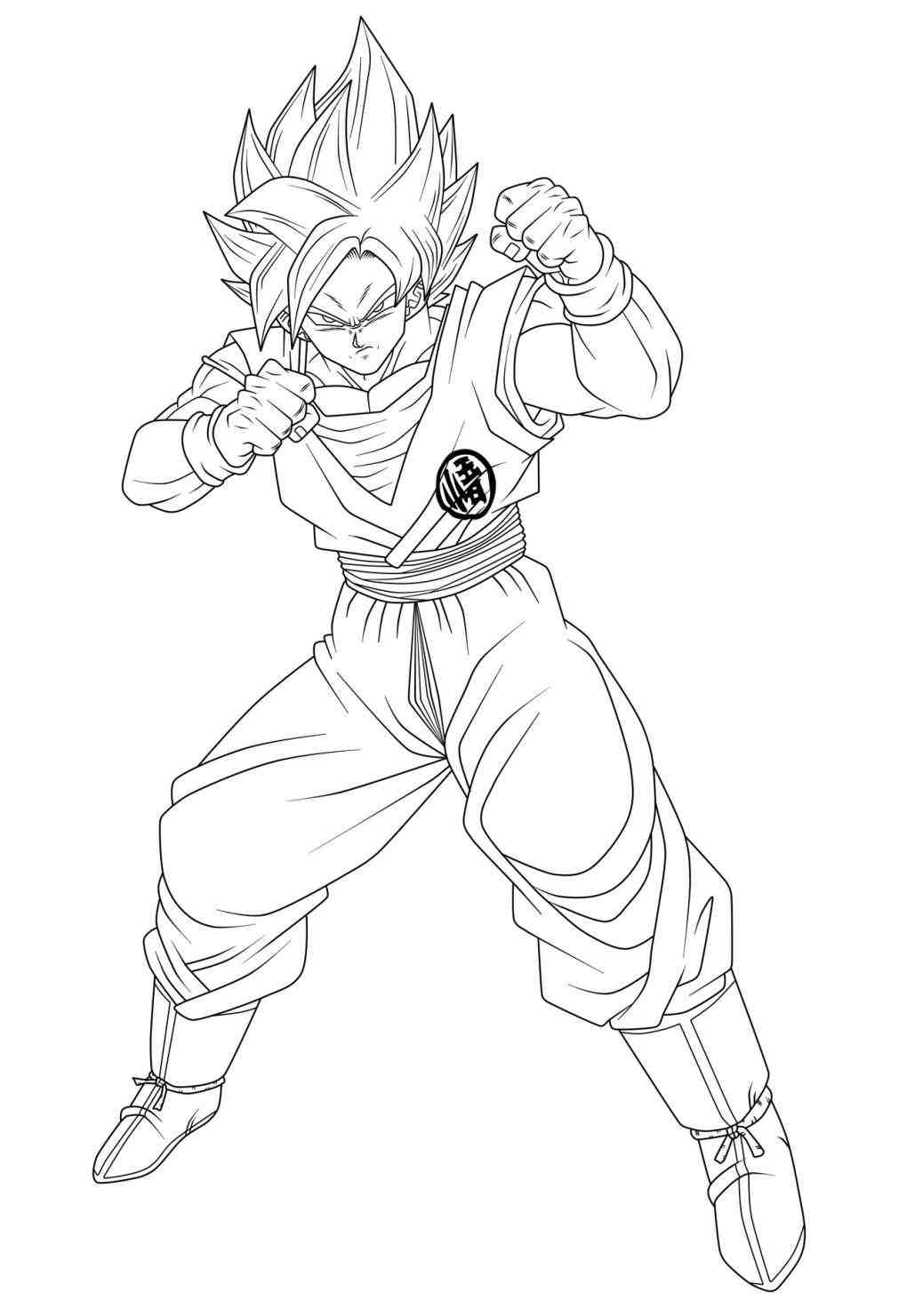 1011x1481 On Ssj Goku Face Drawing Beerus Coloring Page Dragon