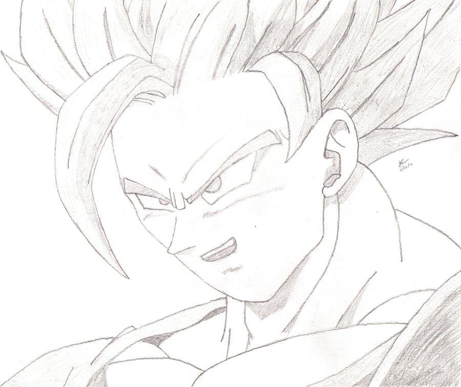 900x756 Super Saiyan 2 Goku By Javiernp91
