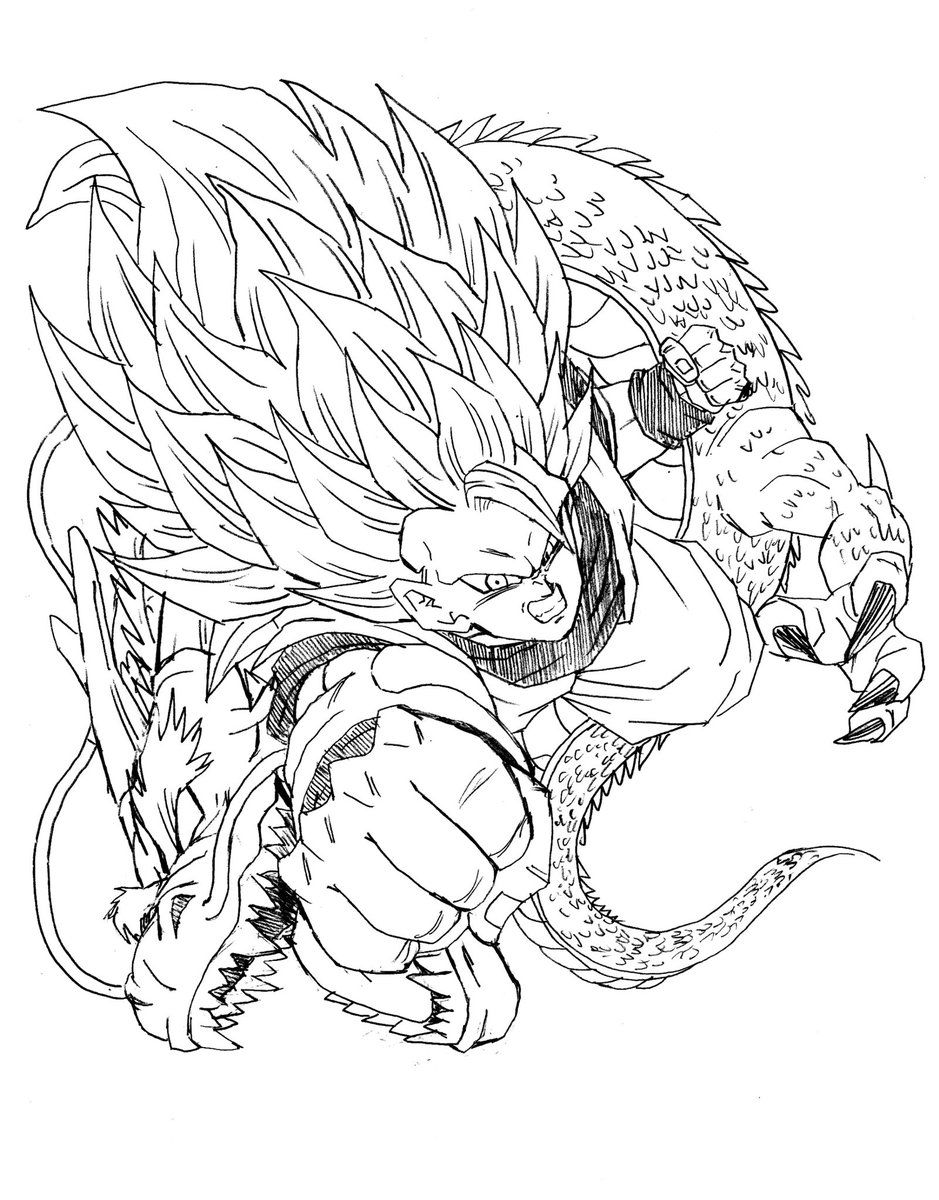 939x1200 Goku Ssj3 Dragon Fist Yo Goku, Dragons And Dragon Ball