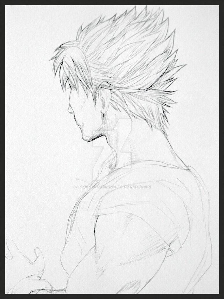 774x1032 Goku Sketch