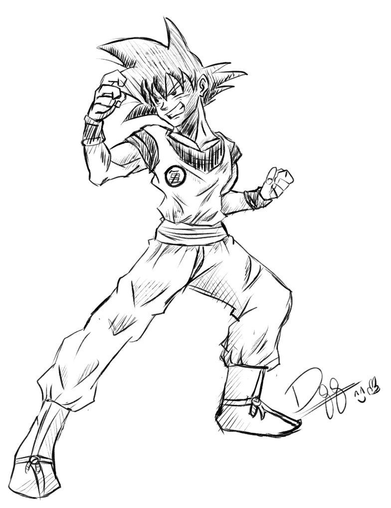 784x1018 Son Goku