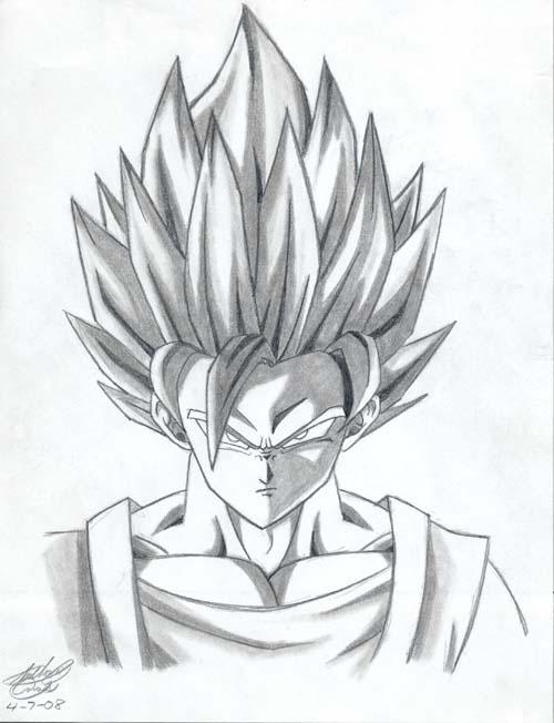 500x652 Super Saiyajin 2 Goku By Elitedragongoku