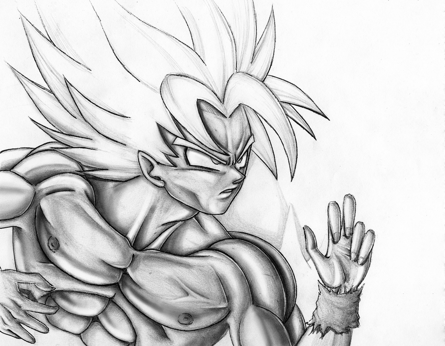 900x700 Super Saiyan Goku By Novasayajingoku
