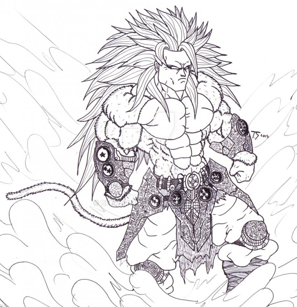 990x1024 Dragon Ball Z Super Saiyan God Full Hd Sketch Images