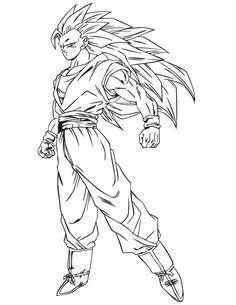 236x305 Drawing Goku Super Saiyan From Dragonball Z Tutorial Dragonball