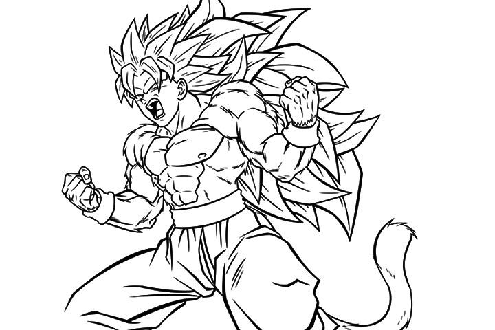 goku super saiyan 4 drawing at getdrawings com free for personal