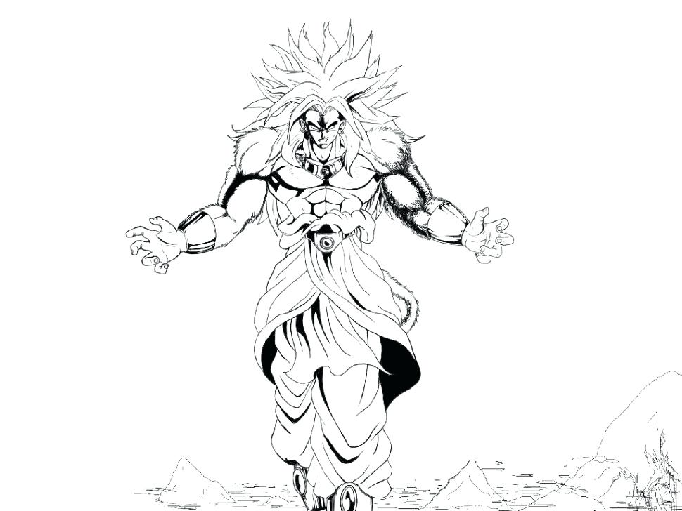 Goku Super Saiyan 4 Drawing at GetDrawings.com | Free for personal ...