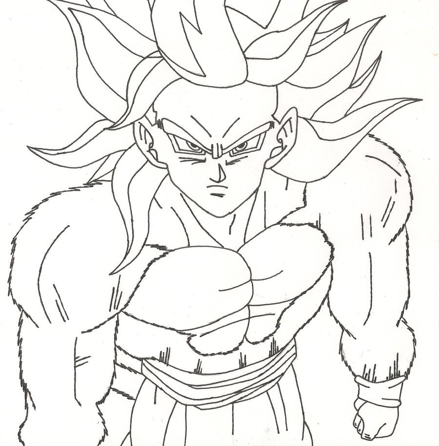 Goku Super Saiyan Drawing