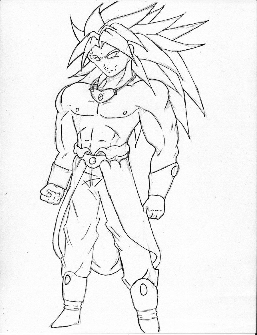 Goku Super Saiyan Drawing at GetDrawings.com   Free for personal use ...