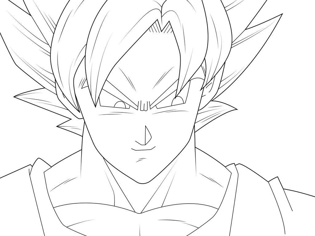 Goku Super Saiyan God Drawing At Getdrawings Com Free For Personal