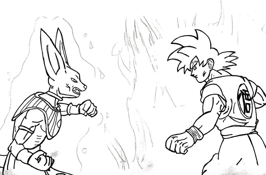 Goku Super Saiyan God Drawing At Getdrawings Free Download