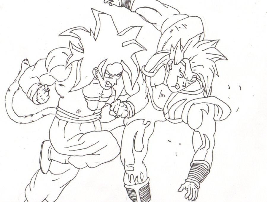 Goku Vs Vegeta Drawing At Getdrawings Com Free For