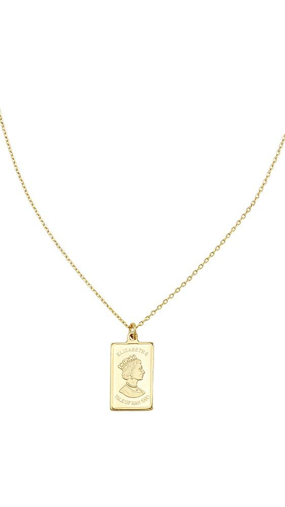 562x999 Gold Bar Necklace Billy J
