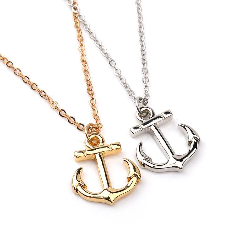 800x800 Elegant Female Jewelry Trendy Anchor Pendant For Women Mini Charms