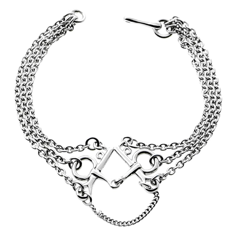 1000x1001 Hermes H Gold Chain Link Bracelet