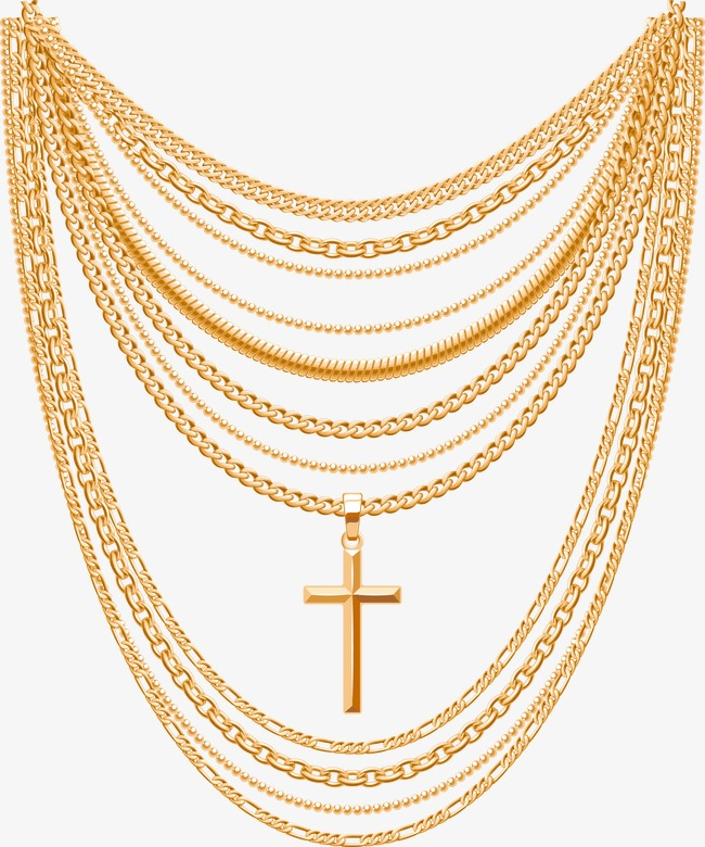 650x780 Vector Gold Necklace, Golden Necklace, Adornment, Jewelry Png