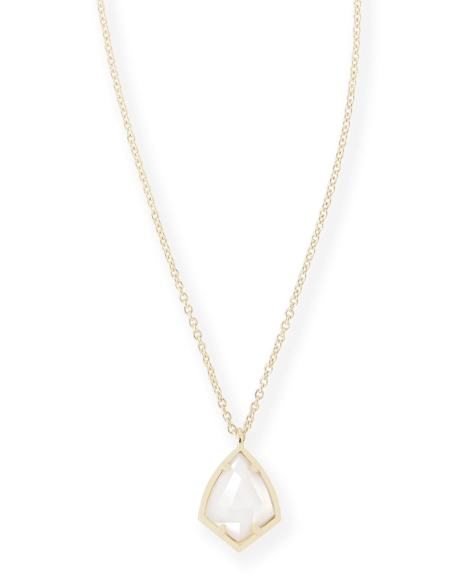 1600x2000 Cory Gold Pendant Necklace In White Pearl Kendra Scott