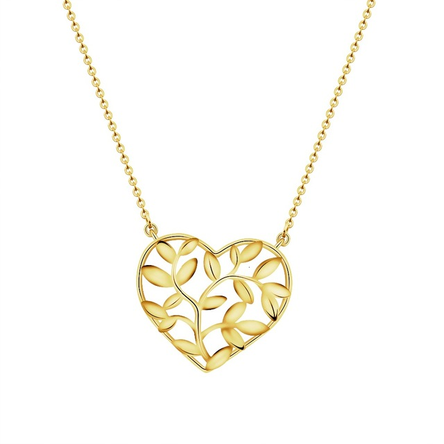 640x640 Dianshangkaituozhe Statement Necklaces Fashion Gold Chain Tree