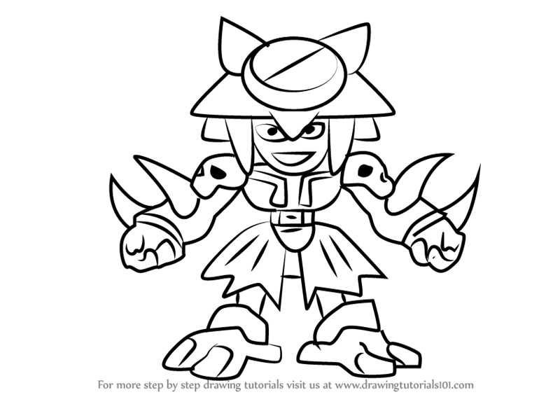 800x567 Learn How To Draw Sir Gold From Medabots (Medabots) Step By Step