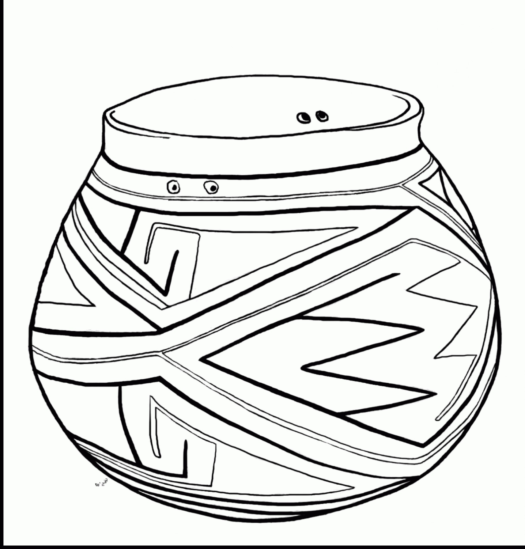 1821x1903 Pot Of Gold Coloring Page Free Draw To Color