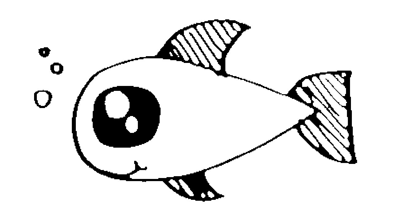 1280x720 How To Draw A Cartoon Goldfish
