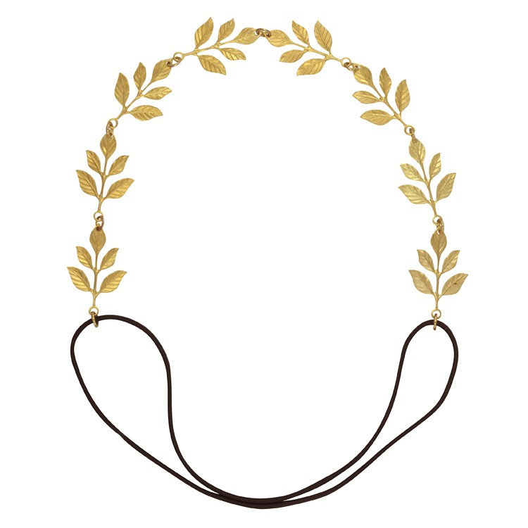 750x750 Eddera Laurier Gold Leaf Headband Sophie'S