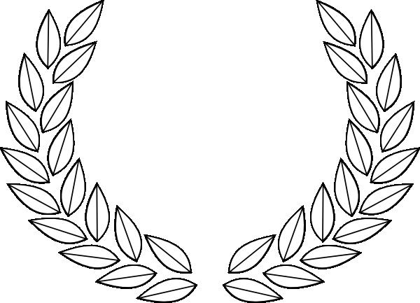 600x433 Olive Leaf Gold Clip Art
