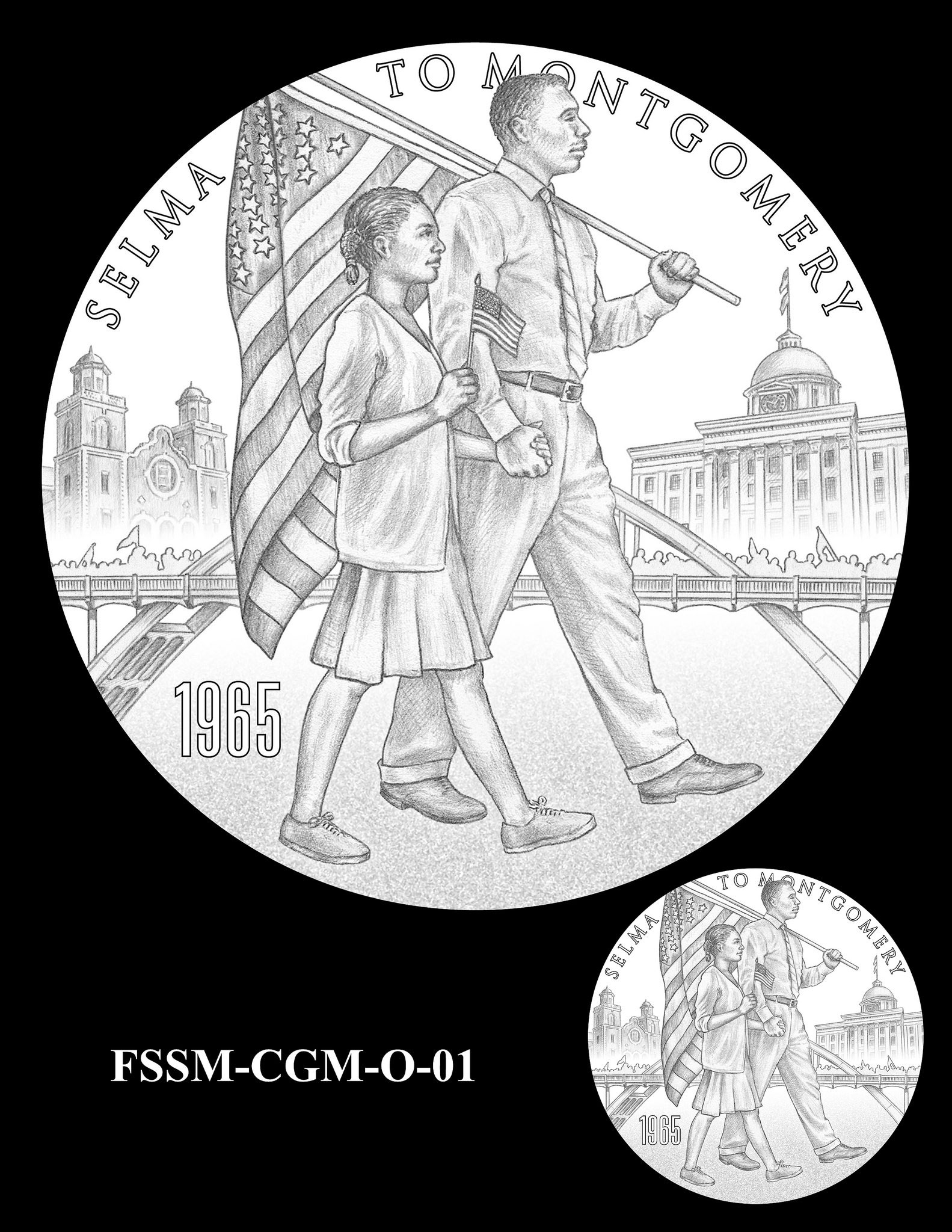 1583x2048 Foot Soldiers Of The Selma To Montgomery March Congressional Gold