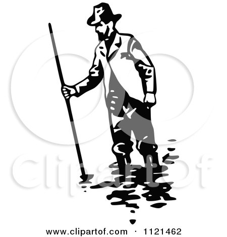 450x470 Royalty Free (Rf) Gold Miner Clipart, Illustrations, Vector