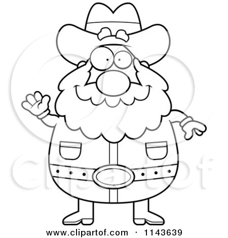 450x470 Clipart Of A Happy Mining Prospector Man With A Gold Nugget