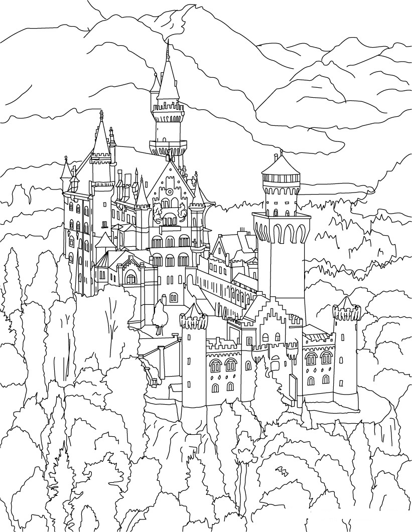 821x1061 Golden Gate Bridge Coloring Page Paginone.biz