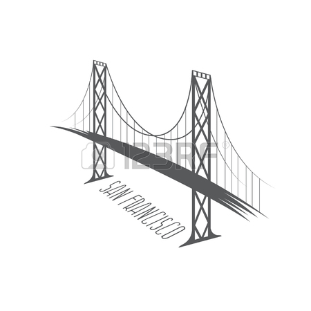 450x450 287 San Francisco Outline Stock Vector Illustration And Royalty