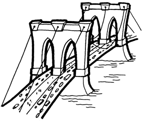 480x409 The Bridge Coloring Page Free Printable Coloring Pages