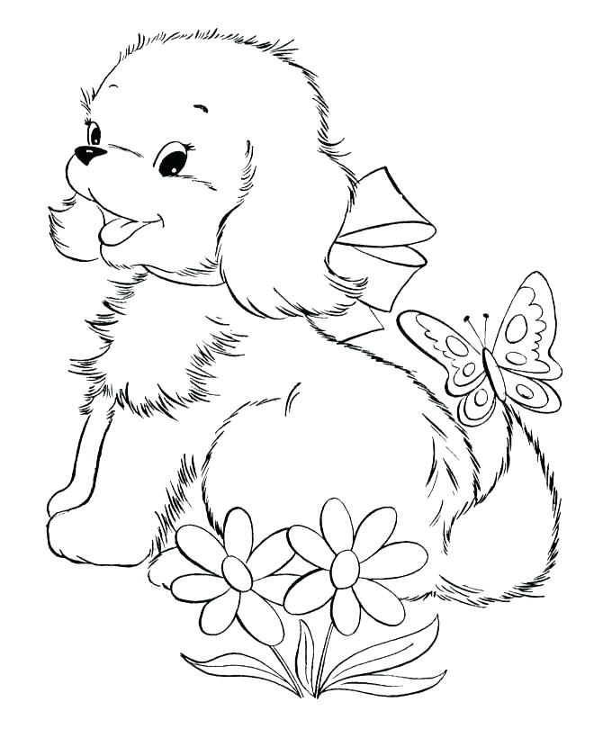 670x820 Golden Retriever Coloring Pages