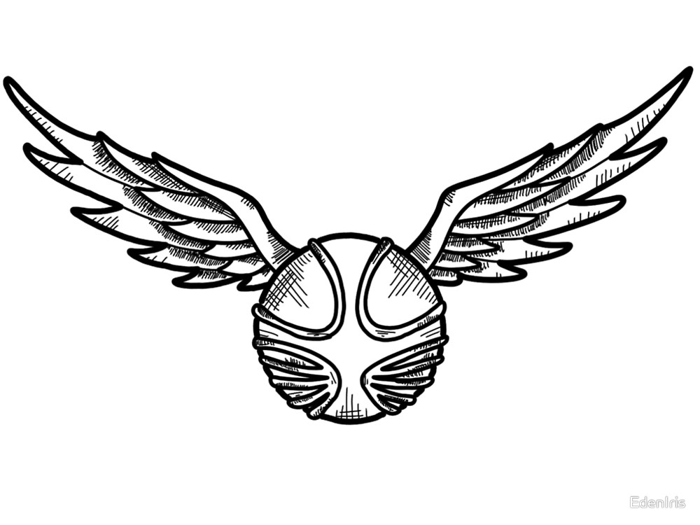 1000x750 Golden Snitch Clipart