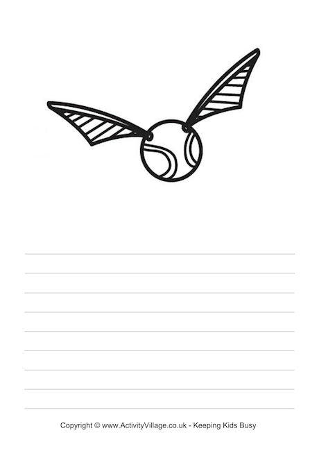 460x650 Golden Snitch Story Paper