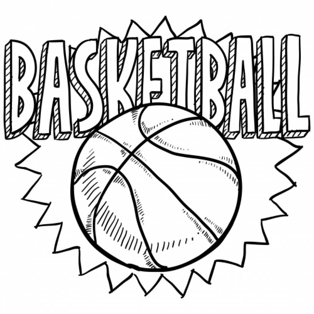 1024x1024 Golden State Warriors Logo Coloring Page Home Inside Basketball
