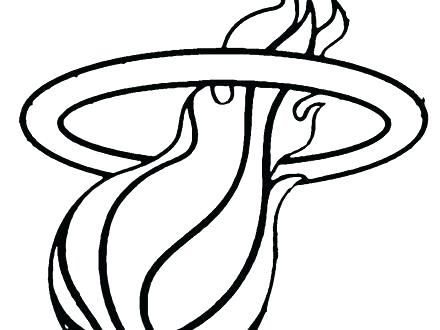 440x330 Nba Logos Coloring Pages Golden State Warriors Basketball Logo