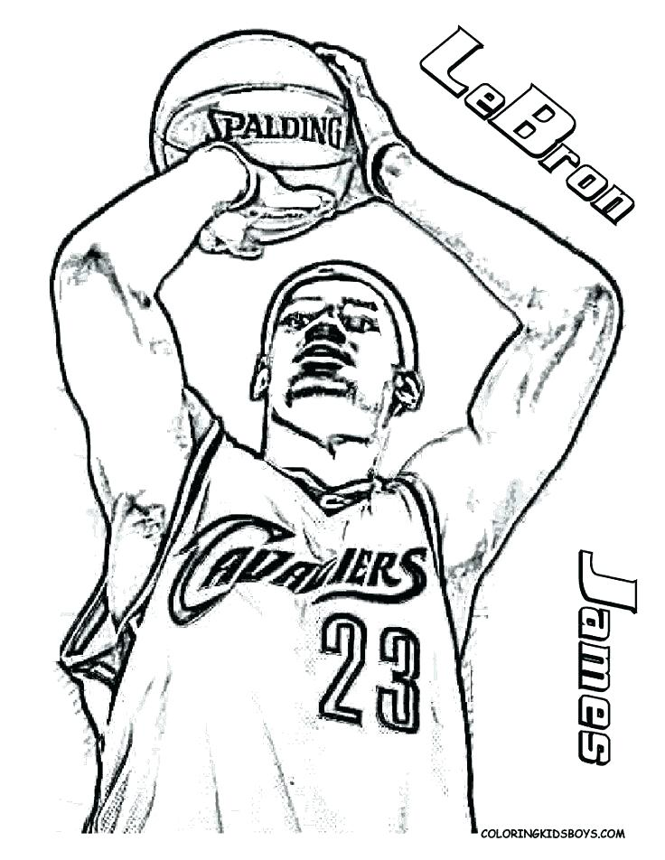 736x952 Nba Basketball Coloring Pages