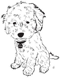 236x308 Golden Doodle Drawing Cricut Creations Inspiration