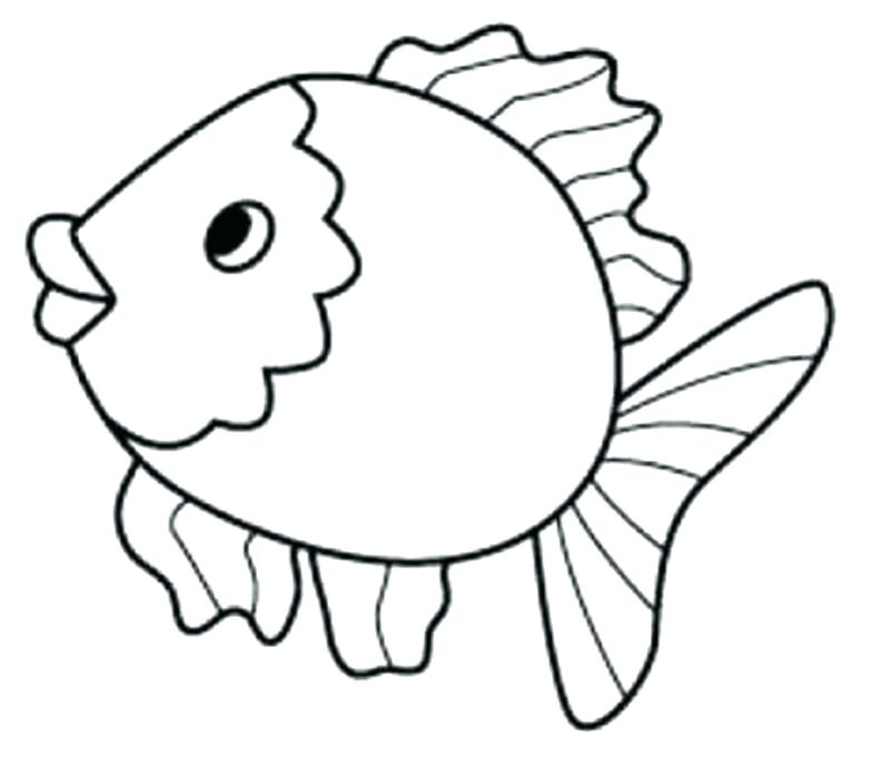 800x680 This Is Coloring Pages Fish Pictures Goldfish Coloring Page Fish