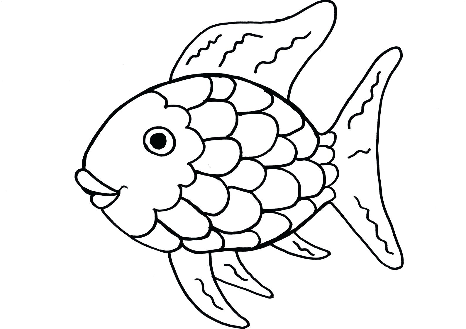 1589x1123 Printable Fish Template Printable Large