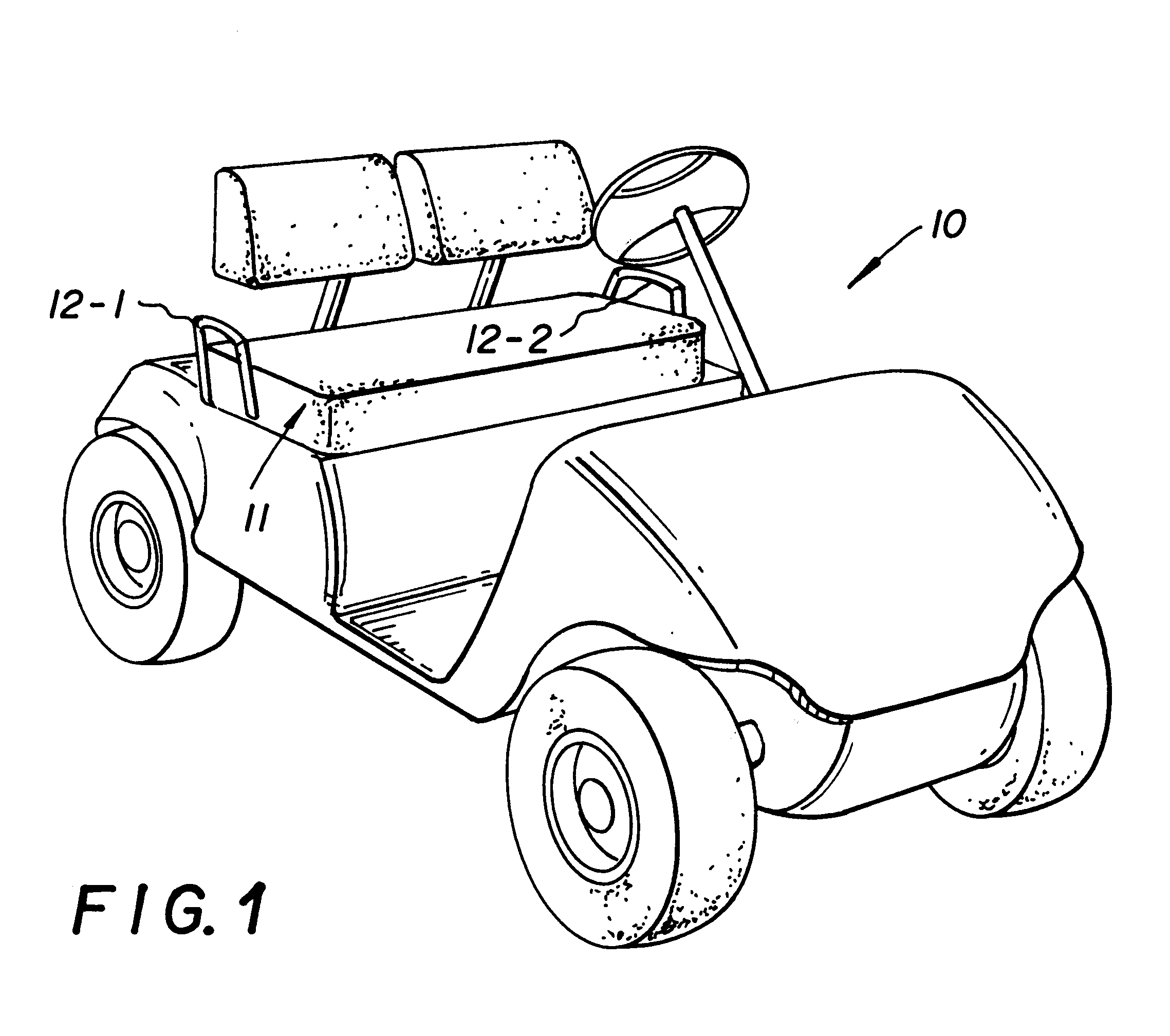 Golf Cart Drawing At Free For Personal Use Columbia Par Car Ignition Wiring Diagram 2277x2017 Patent Us6279993