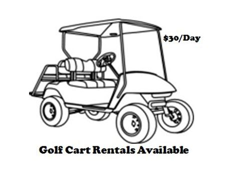 Golf Cart Drawing At Getdrawings Com