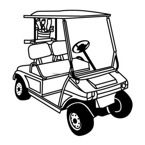 Ezgo Golf Cart Vector Golf Cart Golf Cart Hd Images